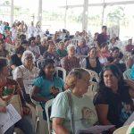 Fiéis de paróquias locais vêm celebrar o dia da Aliança de Amor no Santuário Tabor da Esperança
