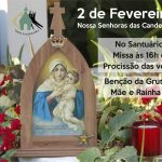 Participe da procissão das velas e da Bênção da Gruta Mãe e Rainha no Santuário