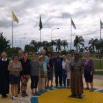 Santuário Tabor da Esperança recebe grupo de peregrinos estrangeiros