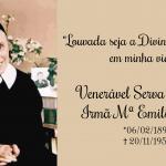Há 126 anos nascia a Irmã M. Emilie Engel…