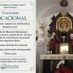 Convite para a convivência vocacional no Santuário Tabor da Esperança