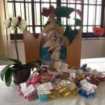 Venha participar do Artesanato Mãe e Rainha no Santuário