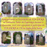 Participe da via-sacra no Santuário Tabor da Esperança nesta sexta-feira santa