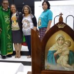 Visita da Imagem Auxiliar no Vicariato Leste
