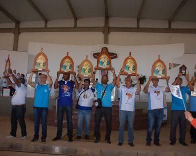 1ª Romaria do Terço dos Homens Mãe e Rainha ao Santuário Tabor da Esperança