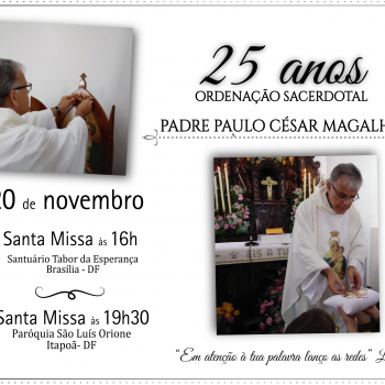 Aniversário de 25 anos de Sacerdócio do Padre Paulo