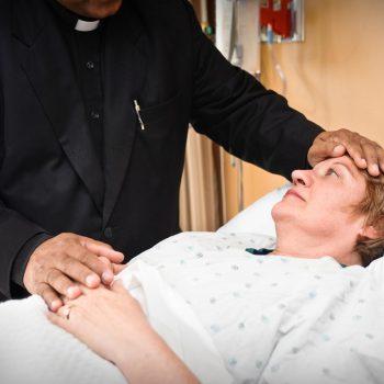 O sacramento das unção dos enfermos