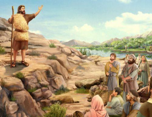 João Batista, Profeta do Advento