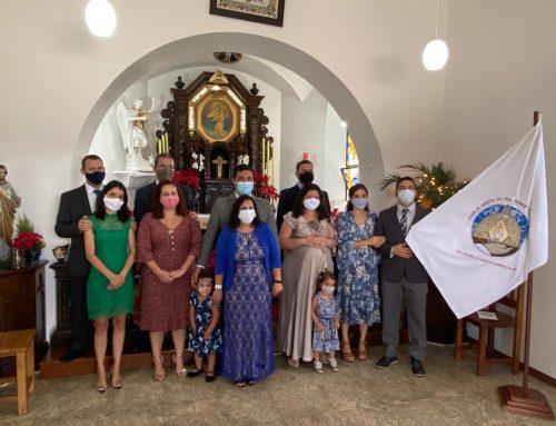 XXV Curso da União de Famílias realiza sua primeira consagração