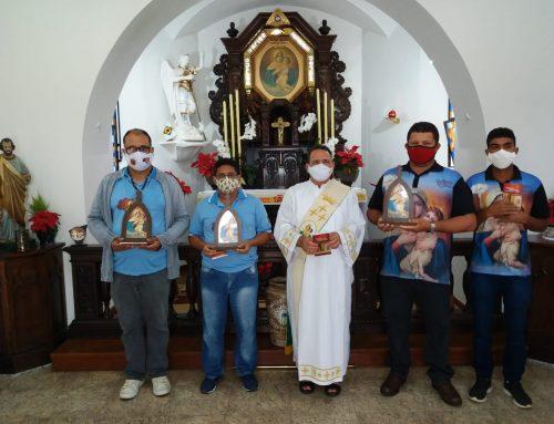 Envio da Imagem Peregrina Auxiliar para o Terço dos Homens Mãe Rainha da Diocese de Luziânia