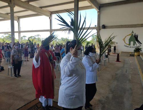 Domingo de Ramos no Santuário Tabor da Esperança