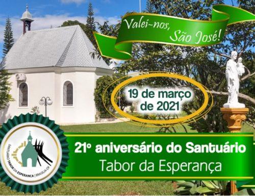Santuário Tabor da Esperança completa 21 anos