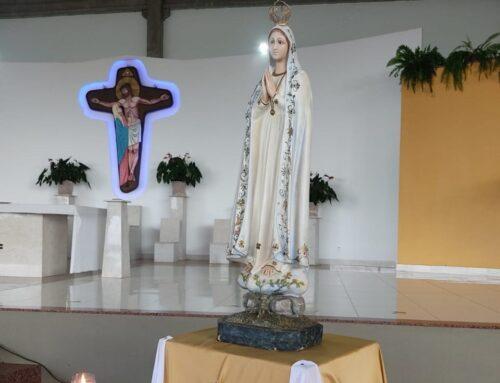 Visita da Imagem de Nossa Senhora de Fátima do Seminário dos Orionitas do Lago Sul de Brasília-DF