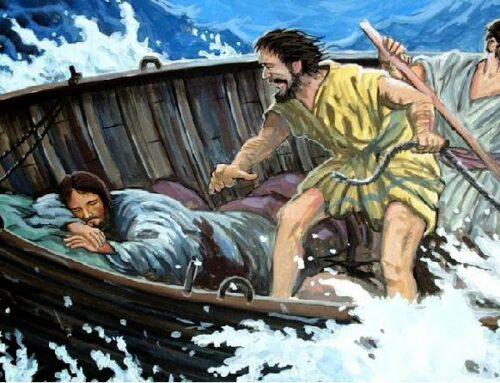 Se Jesus está no barco, não pereceremos
