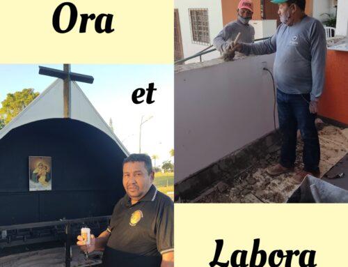 """""""Ora et Labora"""" São Bento"""